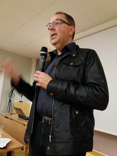 Föreläsare Gunnar Kärrbom