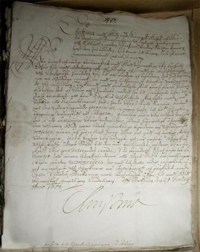 Drottning Kristinas brev2